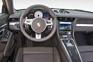 Interior del Porsche 911 (991) 2012