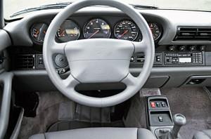 Interior del Porsche 911 (993) 1996