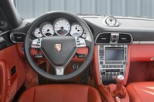 Interior del Porsche 911 (997) 2005