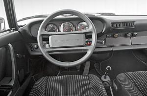 Interior del Porsche 911 1987