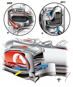 Los pontones de McLaren