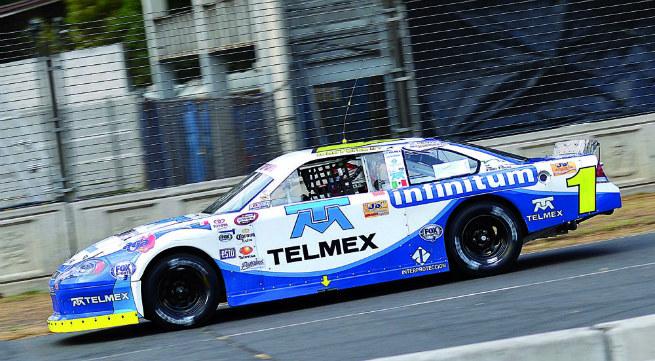 Toño lideró la carrera y lidera el campeonato
