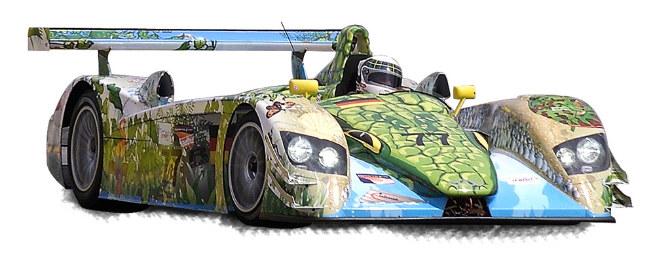 """Audi R8, 2000  """"Crocodile Dindo"""""""