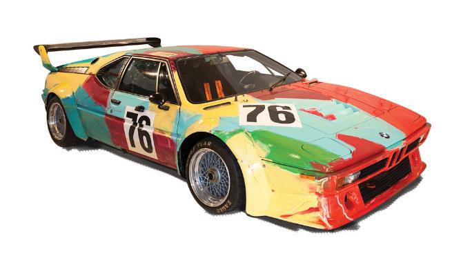 BMW M1, 1979 Por Andy Warhol