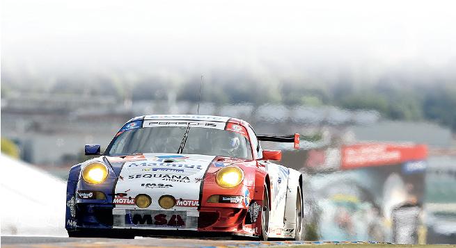 El Porsche 911 ganador de la GTE Am le dio su triunfo de clase 100 a la firma de Zuffenhousen en Le Mans