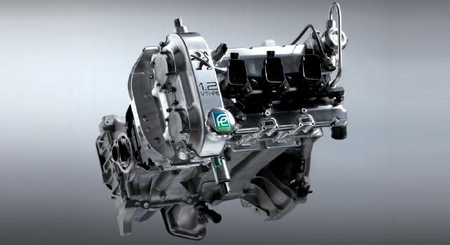 El motor de gasolina es un 1.2 litros de baja fricción que solo pesa 50kg