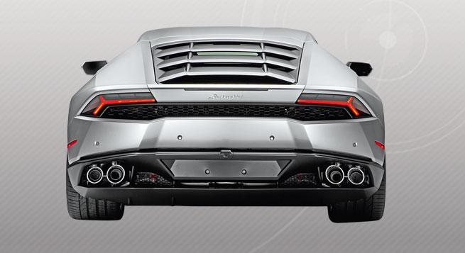 El Huracán toma ideas de estilizado del Aventador que es mayor