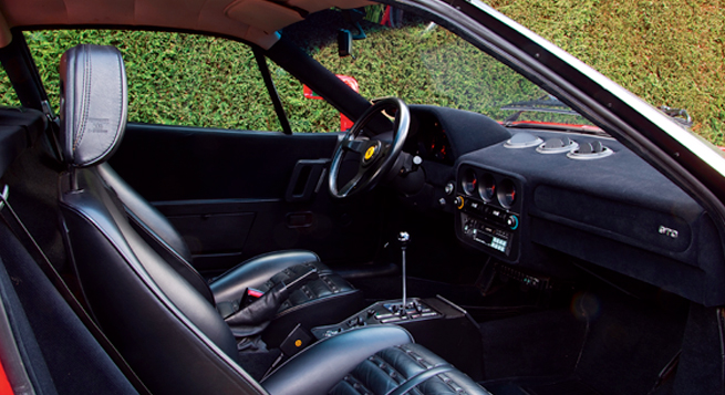 La elegancia del diseño no está confinada sólo al exterior del GTO