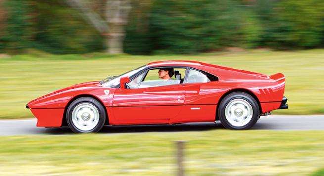Ferrari GTO. Más conocido como el '288 GTO', por su motor (2.8 litros) y número de cilindros (ocho), aunque Ferrari oficialmente lo llama simplemente el GTO.