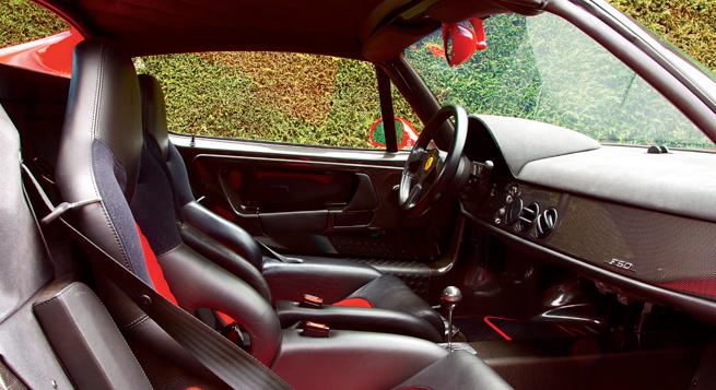 El F50 tiene refinamientos ausentes en su antecesor