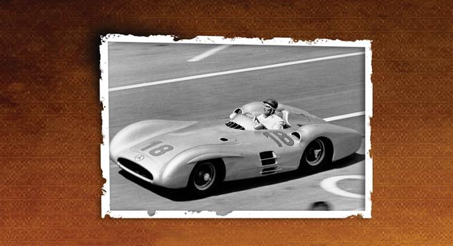 El W196 carenado para circuitos rápidos