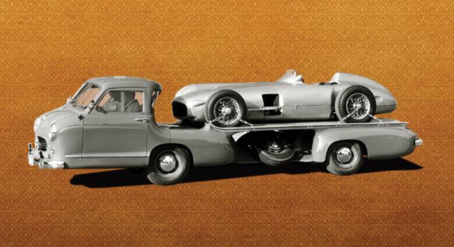 El transporte hecho en casa por Mercedes