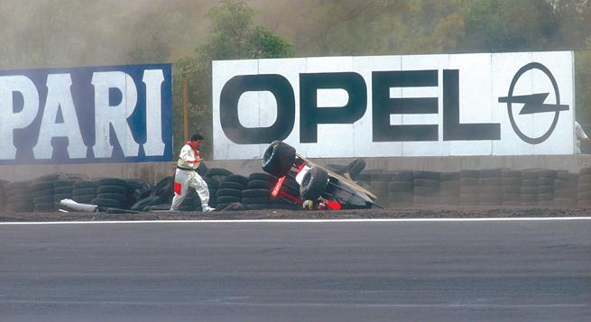 A Senna no le gustaba el AHR y después de esto, menos
