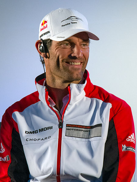Mark Webber WEC Porsche LMP1