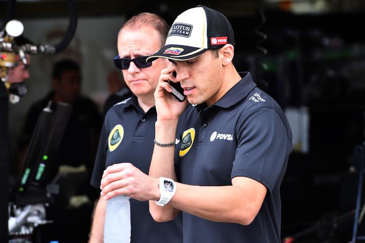 Pastor Maldonado F1 Lotus Renault