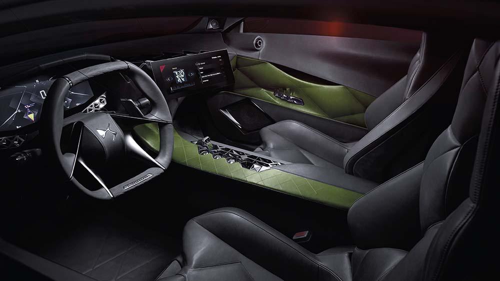 DS E-Tense interior