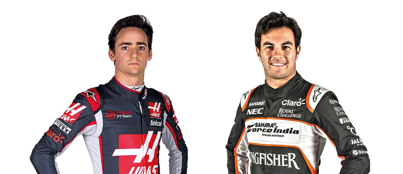 Encuesta: Quien quedara por delante, Esteban Gutierrez o Sergio Perez