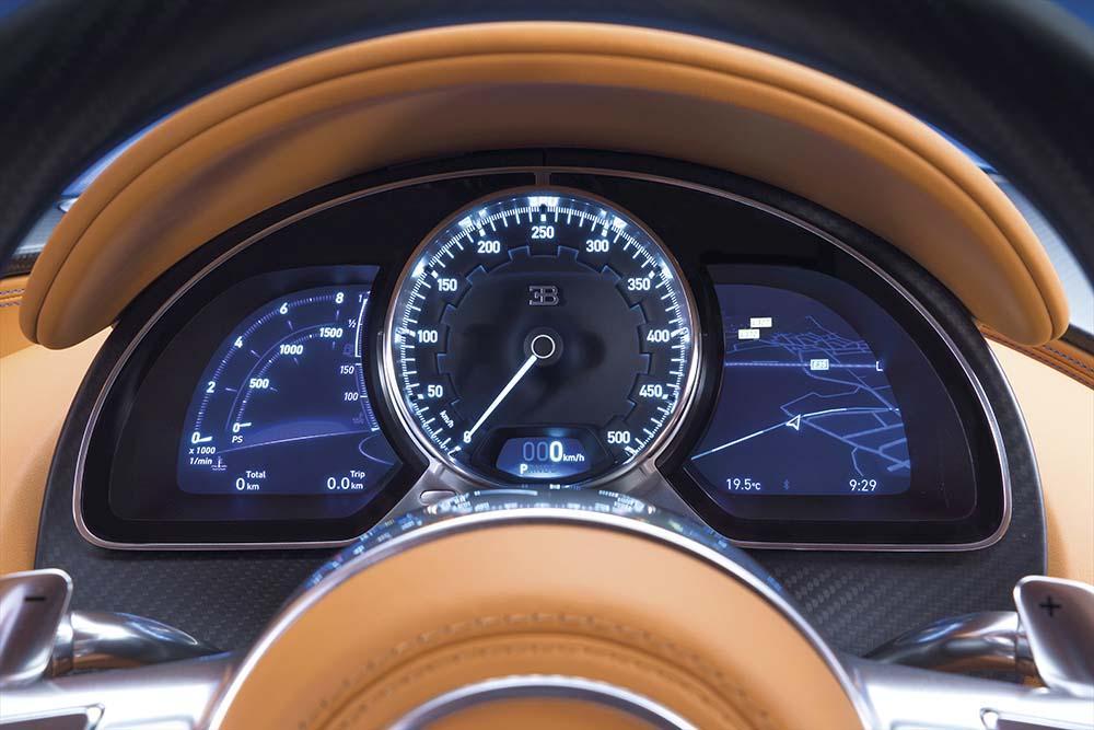 Bugatti Chiron relojes