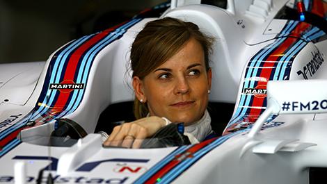 Susie Wolff (GB), Williams F1 Team development driver. Silverstone Circuit.
