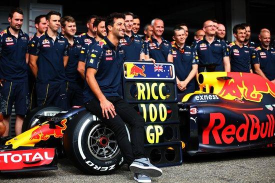 Daniel Ricciardo llega a 100 GPs
