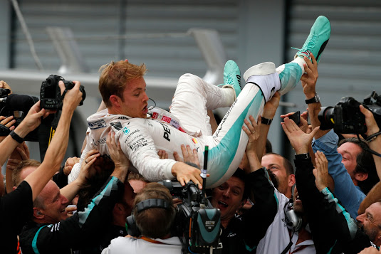 Nico Rosberg gana en Monza
