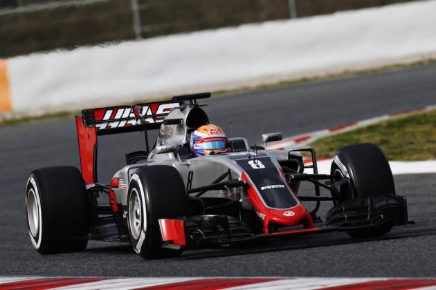 Haas presenta actualizaciones en Singapur