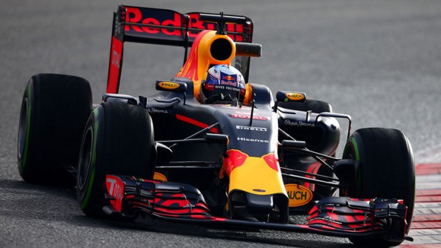 Red Bull se enfoca en auto de 2017