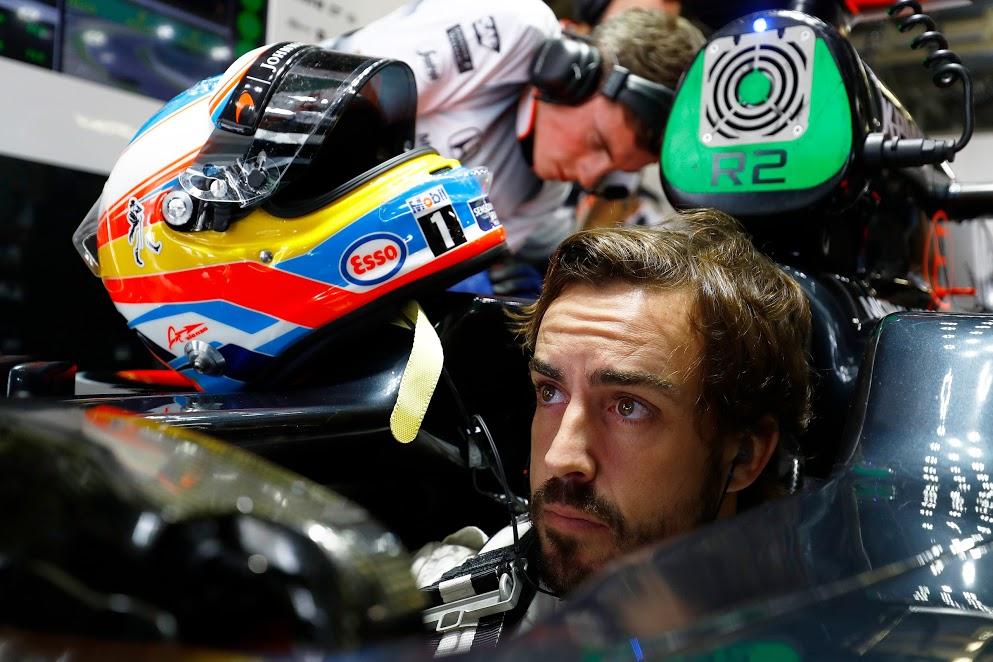 Alonso cree que McLaren ha perdido con los neumaticos 2017