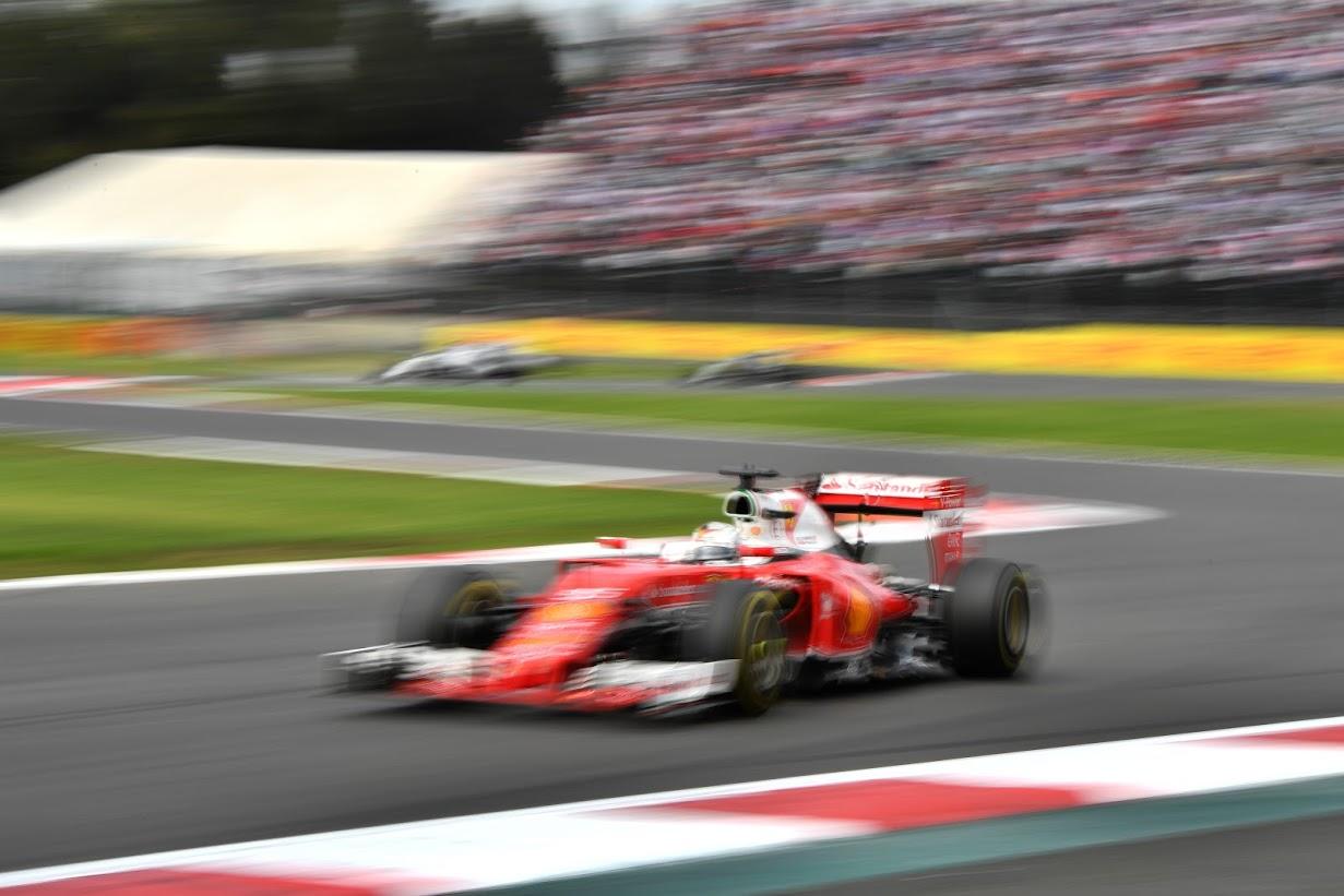Vettel perderá la posición en el GPMX