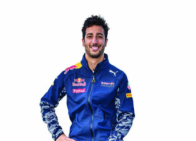 Daniel Ricciardo seen during the Wings For Life World Run Activation in Melbourne, Australia on March 16, 2016. // Andy Green for Wings for Life World Run // P-20160322-00008 // Usage for editorial use only // Please go to www.redbullcontentpool.com for further information. //