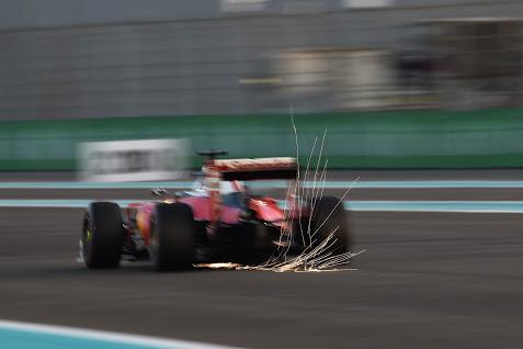 Sebastian Vettel (GER) Ferrari . G .P. de Mexico, 17º prueba del Mundial en el circuito Hermanos Rodríguez el dmingo 01 de noviembre de 2015
