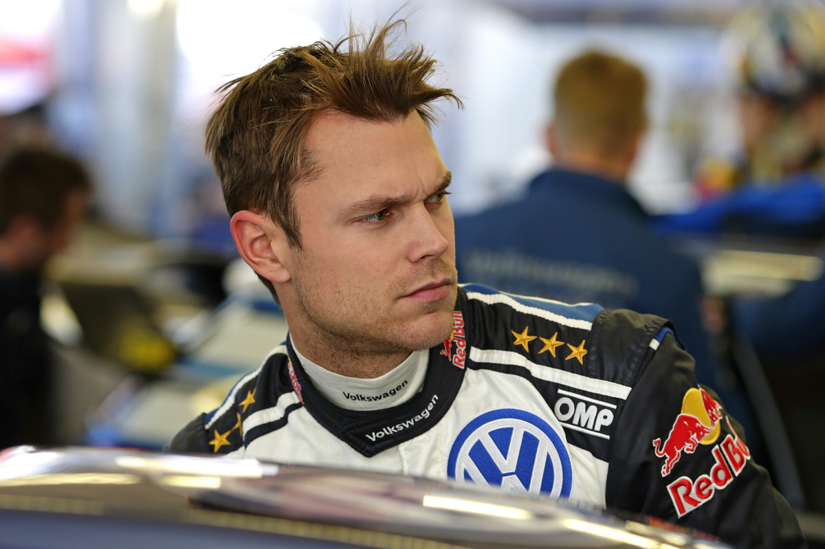 Andreas Mikkelsen (NOR) WRC Rally Monte Carlo 2016