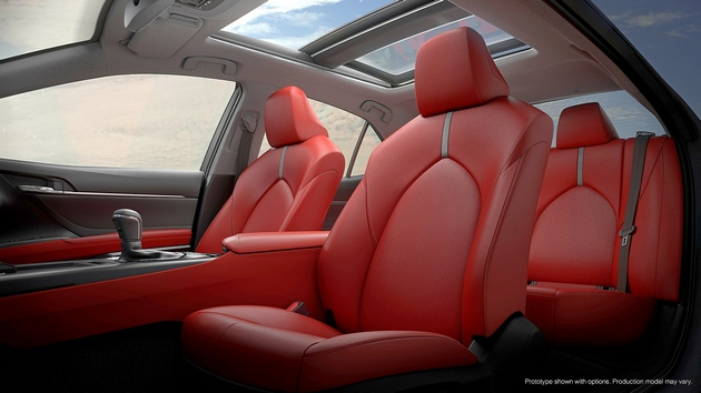 Detroit 2017 toyota camry fastmag for 2018 toyota camry xse red interior