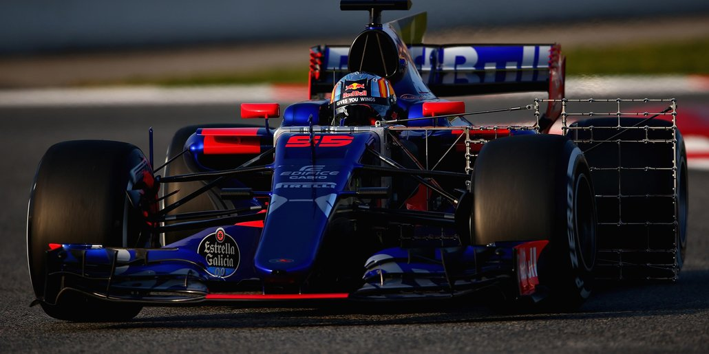 Barcelona 2017 Toro Rosso Carlos Sainz