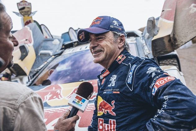 Re: DAKAR 2018, la carrera mas larga del mundo....