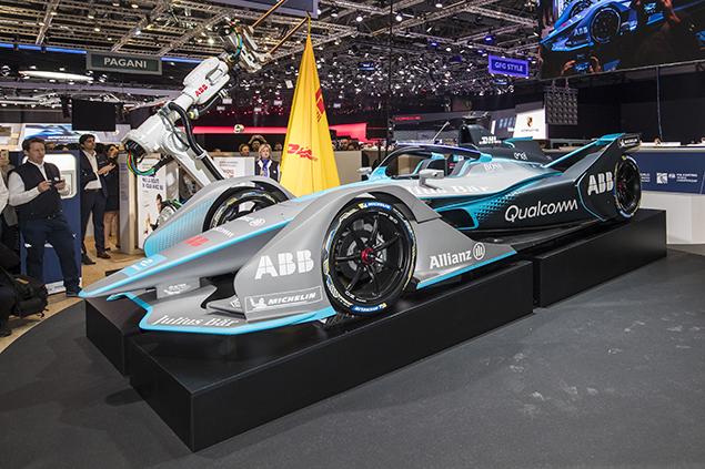 El nuevo chassis Spark debutará en la Temporada 5 de la Fórmula E.
