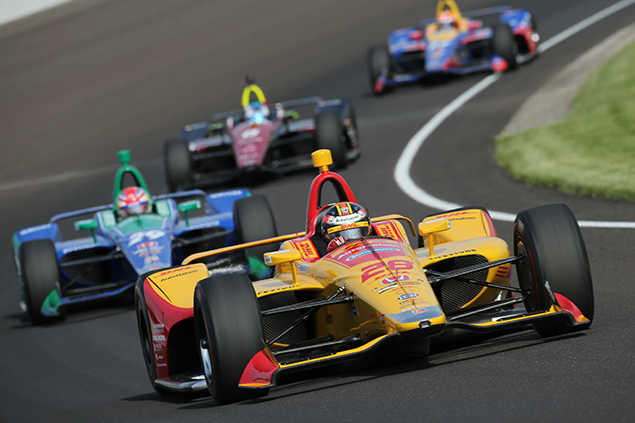 Hunter-Reay (FOTO: Matt Fraver/IMS, LLC Photo)