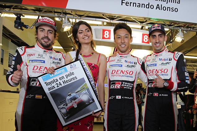 Alonso (FOTO: Toyota GAZOO Racing)