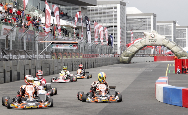 Se vivió un gran ambiente en el Autódromo (FOTO: GPI Karting)