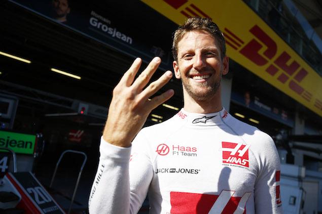 Grosjean se anotó su mejor resultado desde el podio de Bélgica en 2015 (FOTO: Haas F1 Team)