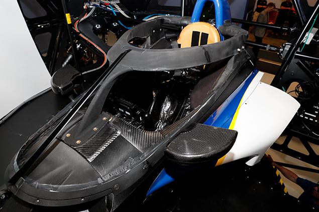 Aeroscreen Dixon (FOTO: Joe Skibinski/INDYCAR)