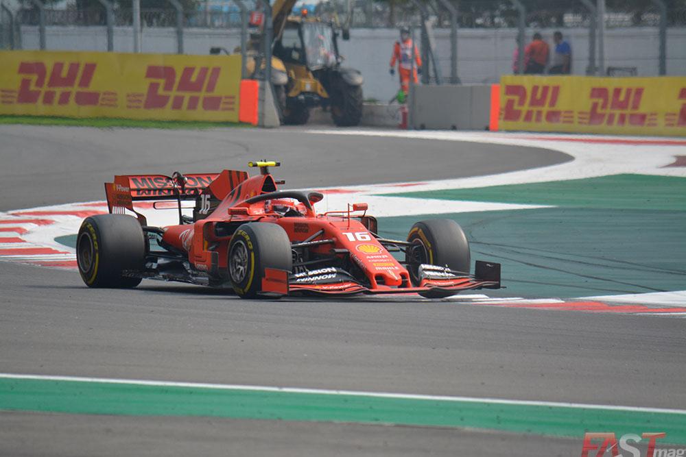 Charles Leclerc (Scuderia Ferrari) dominó la primera parte del Gran Premio mexicano (FOTO: Carlos A. Jalife Ruz)