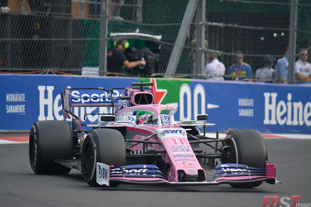"""""""Checo"""" (Racing Point) finalizó en séptimo, igualando su resultado de 2017 (FOTO: Carlos A. Jalife Ruz)"""