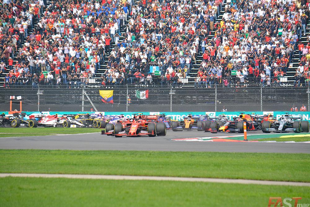 Arranque del Gran Premio mexicano de 2019 (FOTO: Carlos A. Jalife Ruz)