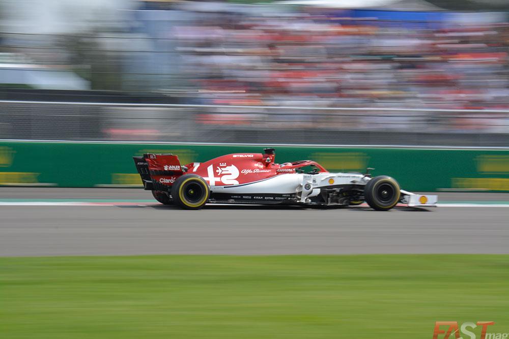 Kimi Raikkönen (Alfa Romeo) fue uno de los dos abandonos del evento (FOTO: Carlos A. Jalife Ruz)
