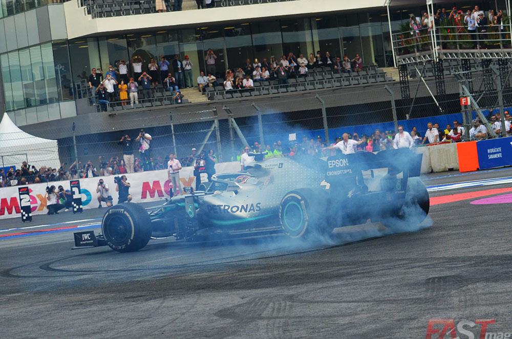 Es la segunda vez que Hamilton vence en el Gran Premio mexicano (FOTO: Omar Jalife Ruz)