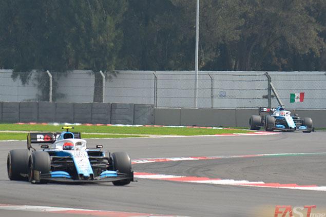 Kubica sigue evitando que Russell llegue al récord histórico, al menos en 19 GPs que le tomó a él (FOTO: Carlos A. Jalife Ruz)
