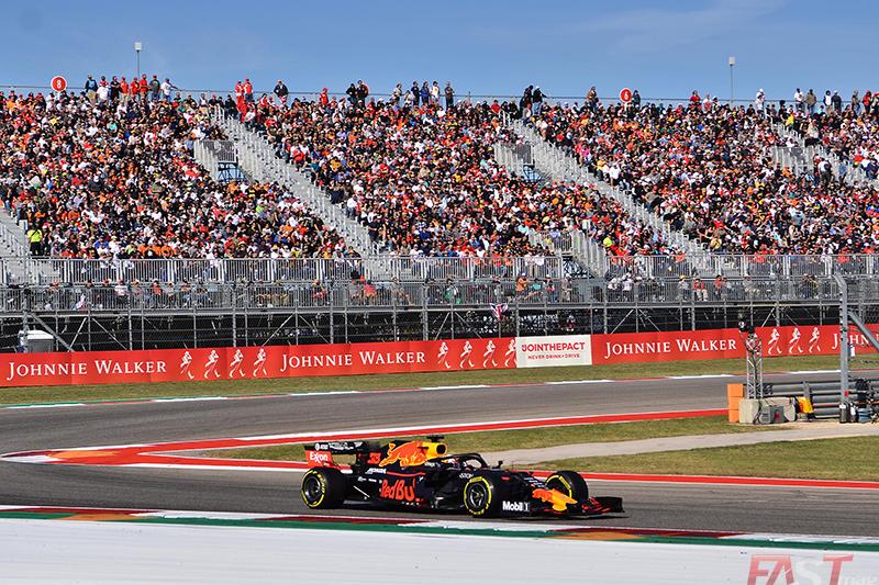 Max Verstappen (Red Bull Racing) durante el GP de Estados Unidos (FOTO: Luis Felipe Ugarte)