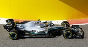Valtteri Bottas en las prácticas del GP de Abu Dhabi FOTO: LAT Images/Mercedes AMG F1)