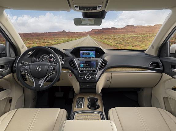 Acura MDX tablero